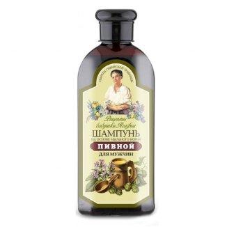 Babuszka Agafia, szampon piwny, dla mężczyzn, 350 ml - zdjęcie produktu