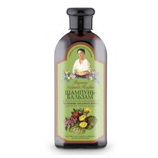 Babuszka Agafia, szampon-balsam regenerujący, 350 ml - zdjęcie produktu