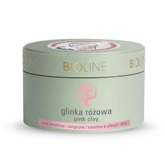 Bioline, glinka różowa, cera wrażliwa i alergiczna, 150 g - zdjęcie produktu