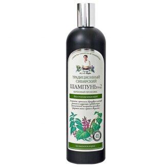 Babuszka Agafia, szampon do włosów regenerujący na brzozowym Propolisie, 550 ml - zdjęcie produktu