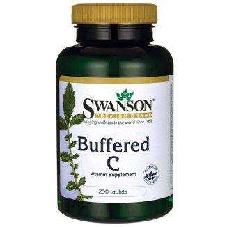 Swanson, Buforowana witamina C, 500 mg, 250 tabletek - zdjęcie produktu