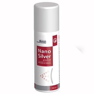 Bioton Nanosilver Prodiab, proszek w sprayu, 125 ml - zdjęcie produktu