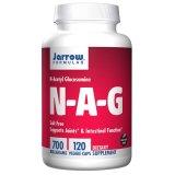 Jarrow Formulas N-A-G, N-acetyloglukozamina 700 mg , 120 kapsułek - miniaturka zdjęcia produktu
