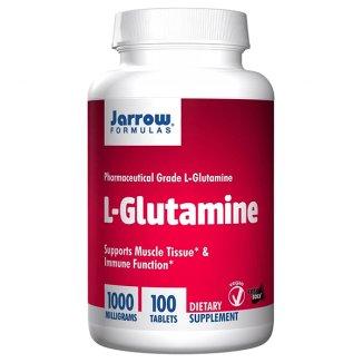 Jarrow Formulas L-Glutamine, glutamina 1000 mg, 100 tabletek - zdjęcie produktu