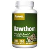 Jarrow, Hawthorn, Głóg, 100 kapsułek - miniaturka zdjęcia produktu