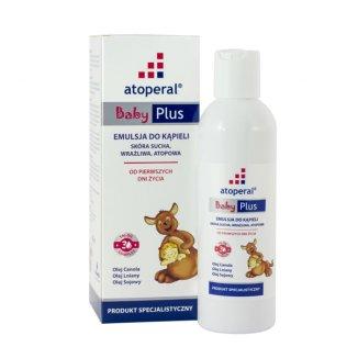 Atoperal Baby Plus, emulsja do kąpieli, 200 ml - zdjęcie produktu