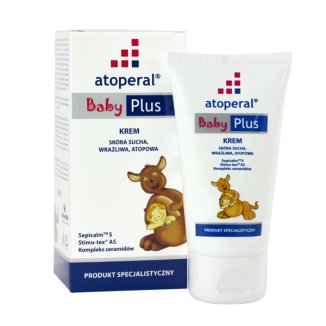Atoperal Baby Plus, krem, skóra sucha, wrażliwa i atopowa, 50 ml - zdjęcie produktu