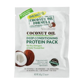 Palmer's Coconut Oil Formula, kuracja proteinowa do włosów z olejkiem kokosowym, 60 g - zdjęcie produktu