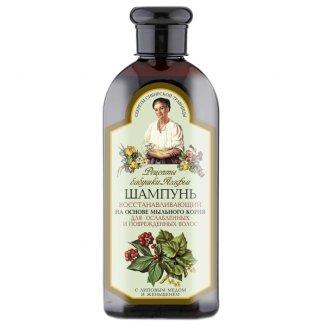 Babuszka Agafia, szampon regeneracyjny, włosy osłabione i zniszczone , 350 ml - zdjęcie produktu