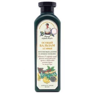 Babuszka Agafia, balsam ziołowy specjalny przeciw wypadaniu i łamliwości włosów, 350 ml - zdjęcie produktu