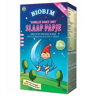 Biobim, Kaszka ekologiczna na noc, Dobry Sen, po 6 miesiącu, 225 g - zdjęcie produktu