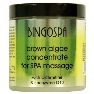 Bingospa, koncentrat alg brunatnych do masażu SPA z L-karnityną i koenzymem Q10, 250 g - zdjęcie produktu