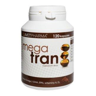 AvetPharma Mega Tran, 120 kapsułek - zdjęcie produktu