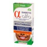 Alfa Diabetic Fresh, specjalistyczna płukanka dla diabetyków, 200 ml - miniaturka zdjęcia produktu