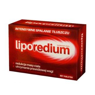 Liporedium, 60 tabletek - zdjęcie produktu