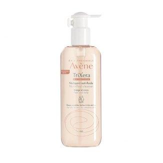 Avene TriXera Nutrition, żel oczyszczający do twarzy i ciała, skóra wrażliwa, sucha i bardzo sucha, 400 ml - zdjęcie produktu