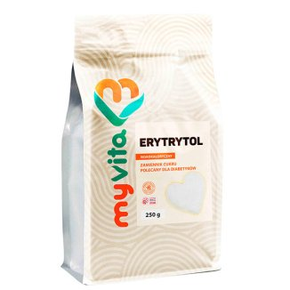 MyVita, Erytrytol, 250 g - zdjęcie produktu