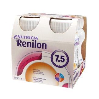 Renilon 7.5, preparat odżywczy, smak karmelowy, 4 x 125 ml - zdjęcie produktu