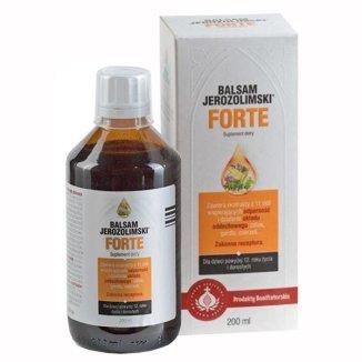 Balsam Jerozolimski Forte, płyn, 200 ml - zdjęcie produktu