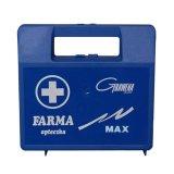 Apteczka FARMA MAX z maseczką do sztucznego oddychania, granatowa, 1 sztuka - miniaturka zdjęcia produktu