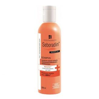 Seboradin Regenerujący, szampon z syropem kukurdzianym i żeń-szeniem, 200 ml - zdjęcie produktu