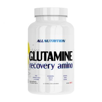 Allnutrition Glutamine Recovery Amino, cytrynowy, 250 g - zdjęcie produktu