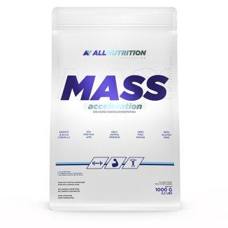 Allnutrition Mass Acceleration, gainer, smak biała czekolada, 1000 g - zdjęcie produktu