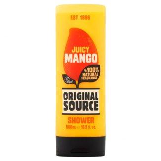 Original Source Vegan, żel pod prysznic, Mango, 500 ml - zdjęcie produktu