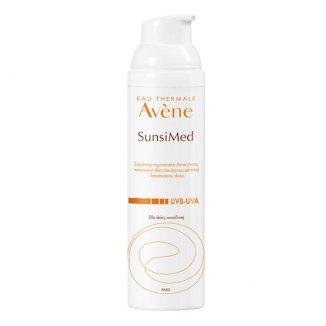 Avene SunsiMed, krem z bardzo wysoką, ochroną skóra wrażliwa i nadwrażliwa, 80 ml - zdjęcie produktu