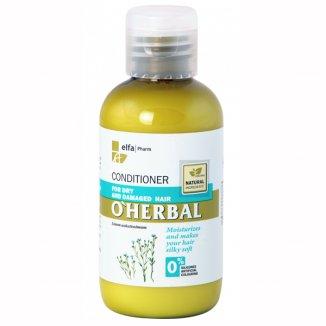 O'Herbal, odżywka do włosów suchych i zniszczonych z ekstraktem z nasion lnu, 75 ml - zdjęcie produktu