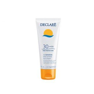 DECLARE SUN Sensitive, krem przeciwzmarszczkowy SPF30, 75 ml - zdjęcie produktu