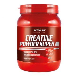 ActivLab Creatine Powder Super, smak pomarańczowy, 500 g - zdjęcie produktu