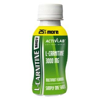 ActivLab L-Carnitine, shot, smak wieloowocowy, 100 ml - zdjęcie produktu