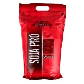 Activlab Soya Pro, smak truskawkowy, 2000 g - zdjęcie produktu