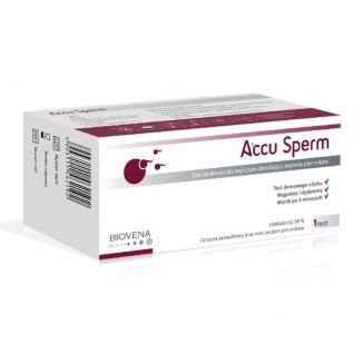 Accu Sperm, test płodności dla mężczyzn określający stężenie plemników, 1 sztuka - zdjęcie produktu