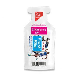 ActivLab Run & Bike, Endurance Gel, smak Tutti Frutti, 40 g - zdjęcie produktu