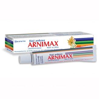 Arnimax 10 g/ 100 g, maść arnikowa, 40 g - zdjęcie produktu
