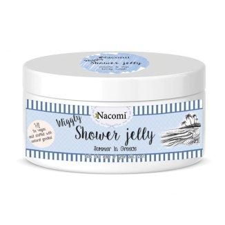 Nacomi, galaretka do mycia ciała, greckie lato, 100 g - zdjęcie produktu