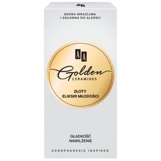 AA Golden Ceramides, złoty eliksir młodości, 15 ml - zdjęcie produktu