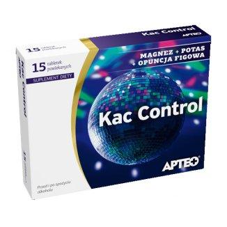 Apteo Kac Control, 15 tabletek powlekanych - zdjęcie produktu