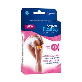 Active Plast Functional, plastry antycellulitowe, 10 sztuk - zdjęcie produktu