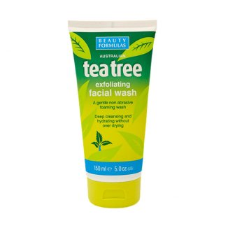 Beauty Formulas Tea Tree, żel złuszczający do mycia twarzy, 150 ml - zdjęcie produktu