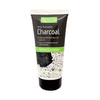 Beauty Formulas Charcoal, żel do mycia twarzy, detoks z aktywnym węglem, 150 ml - zdjęcie produktu