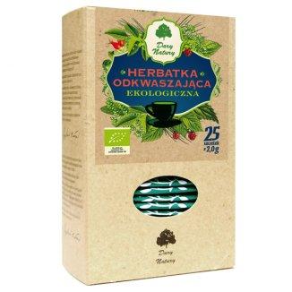 Dary Natury Herbatka odkwaszająca, ekologiczna, 2 g x 25 saszetek - zdjęcie produktu