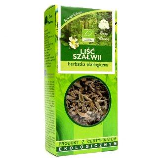 Dary Natury Liść szałwii, herbatka ekologiczna, 25 g - zdjęcie produktu