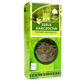 Dary Natury Ziele karczocha, herbatka ekologiczna, 50 g - zdjęcie produktu