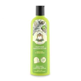 Babuszka Agafia, balsam do włosów suchych i osłabionych, cedrowy, 280 ml - zdjęcie produktu