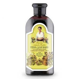 Babuszka Agafia, płyn do kąpieli tonizujący z mydlnicą lekarską, 500 ml - zdjęcie produktu