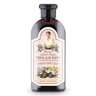 Babuszka Agafia, płyn do kąpieli zioła Syberii z mydlnicą lekarską, 500 ml - zdjęcie produktu