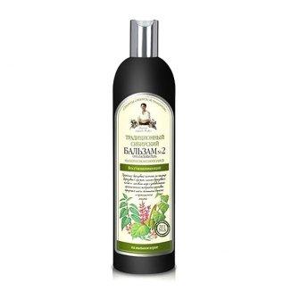 Babuszka Agafia, balsam do włosów regenerujący, na brzozowym Propolisie, 550 ml - zdjęcie produktu